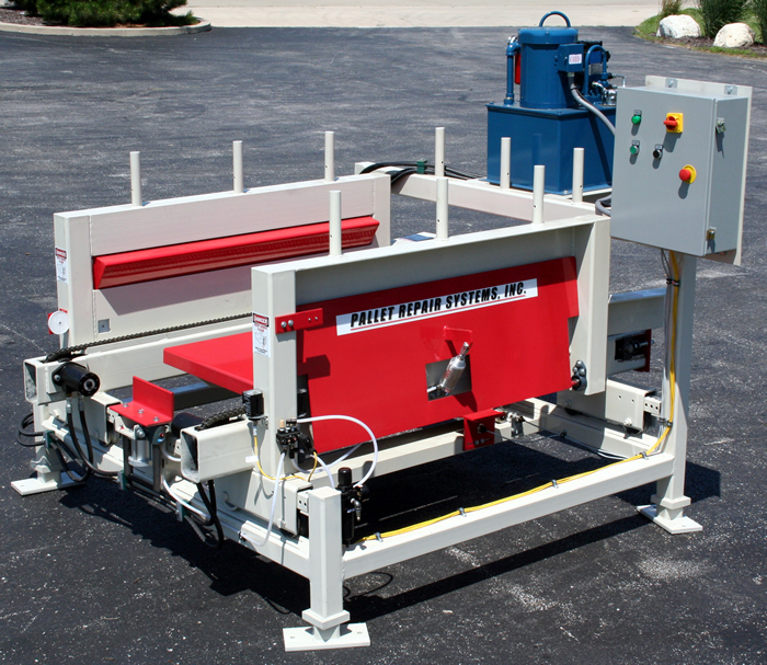 Pallet Repair Recycling Equipment And Supplies