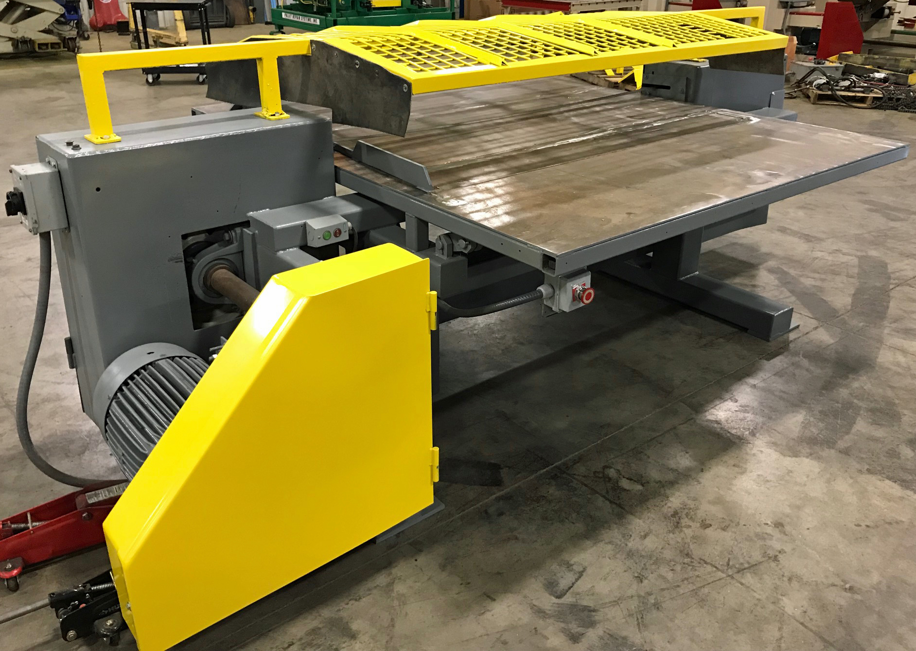 Rapid Cut II Pallet Dismantler. PRS Group Inc   Pallet Repair Recycling Equipment and Supplies